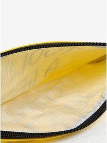 Žlutý penál s potiskem CGB