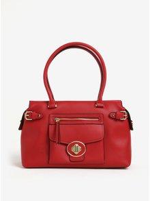 Červená kabelka do ruky Gionni Ninette