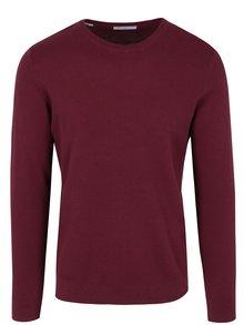 Vínový lehký svetr Selected Homme Damian