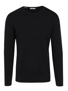Pulover subtire negru din bumbac - Selected Homme Damian