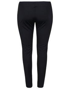 Čierne elastické nohavice La Lemon