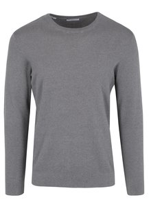 Pulover subtire gri din bumbac - Selected Homme Damian