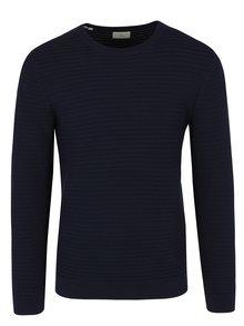 Tmavě modrý svetr Selected Homme Reed