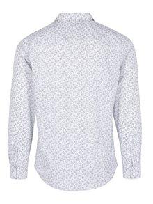 Biela košeľa s jemným vzorom Selected Homme Doneed
