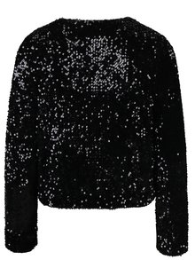 Černé flitrované sako Dorothy Perkins