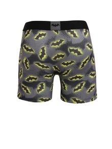 Boxeri gri cu print Batman pentru barbati - Batman Freegun