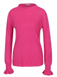 Růžový lehký svetr Jacqueline de Yong Penny
