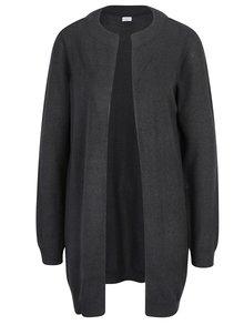 Cardigan tricotat gri inchis - Jacqueline de Yong Day light