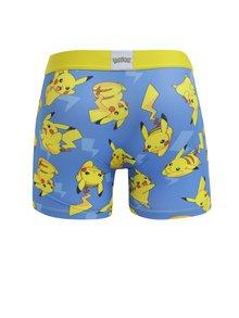 Boxeri albastri cu print Pikachu pentru barbati - Pokemon Freegun