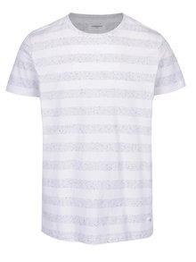Bílé pruhované tričko Lindbergh