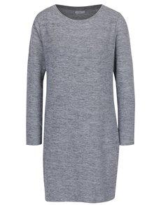Rochie - pulover gri deschis melanj cu decolteu rotund - Jacqueline de Yong Sorry