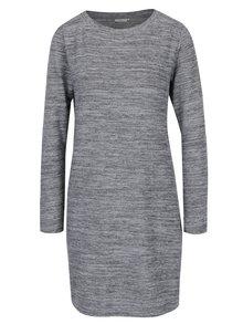 Sivé melírované svetrové šaty Jacqueline de Yong Sorry