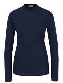 Tmavě modré tričko s nízkým rolákem Jacqueline de Yong Spirit