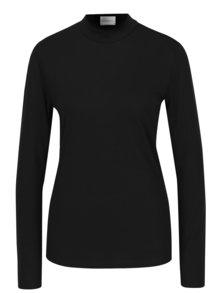 Bluza neagra cu guler la baza gatului -  Jacqueline de Yong Spirit