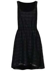 Černé vzorované šaty ONLY Antonia