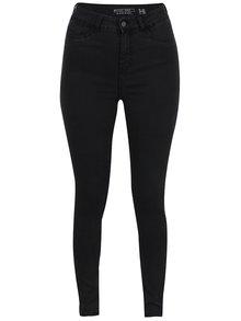Tmavě šedé džíny s vysokým pasem Noisy May Great