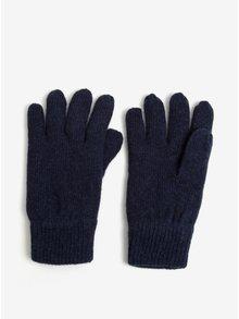 Manusi bleumarin cu amestec de lana - Blend