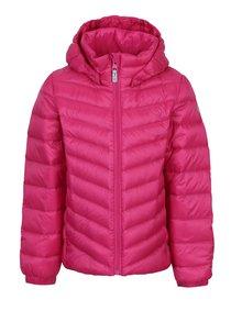 Ružová dievčenská funkčná zimná páperová bunda Reima Fern