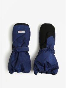 Modré detské vodovzdorné funkčné zateplené palčáky Reima Ote
