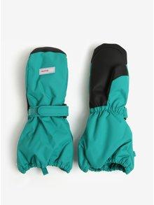Zelené dětské voděodolné funkční zateplené palčáky Reima Ote