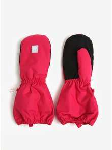 Ružové dievčenské zateplené zimné palčáky Reima Nouto