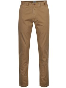 Béžové chino regular fit nohavice Barbour Neuston Twill