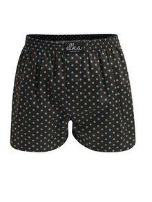 Boxeri maro cu buline pentru barbati - El.Ka Underwear