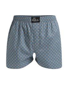 Sivé pánske bodkované trenírky El.Ka Underwear