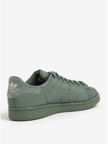 Pantofi sport verzi din piele pentru femei adidas Originals Stan Smith