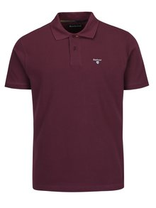 Tricou polo bordo cu logo brodat - Barbour Tartan Pique