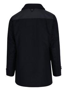 Palton bleumarin din amestec de lana pentru barbati Barbour Carr