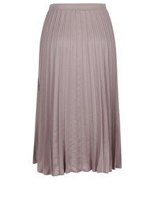 Staroružová plisovaná midi sukňa ZOOT