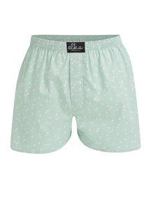 Zelené pánské vzorované trenky El.Ka Underwear