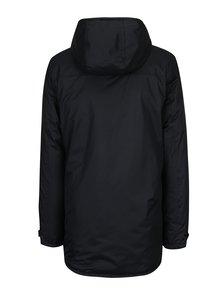 Černá zimní bunda s kapucí Blend