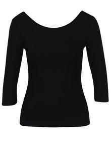 Bluza basic neagra cu decolteu rotund  ZOOT