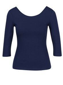 Tmavě modré tričko s kulatým výstřihem ZOOT