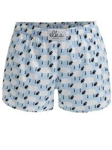 Světle modré dámské trenky s ovečkami El.Ka Underwear