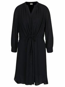 Čierne šaty Selected Femme Damina