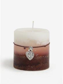 Svíčka s ozdobou Kaemingk
