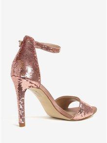Ružové sandáliky s flitrami ALDO Fiolla