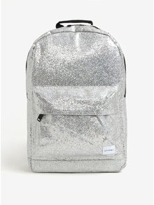 Rucsac argintiu cu buzunar pentru notebook Spiral Silver Glamour 18 l
