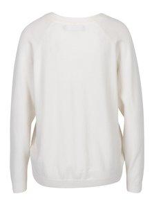 Krémový svetr s véčkovým výstřihem VERO MODA Karis