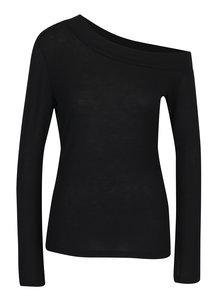 Bluza neagra asimetrica Noisy May Kennedy