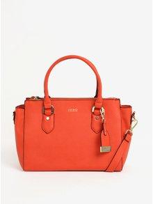 Oranžová kabelka do ruky Juno