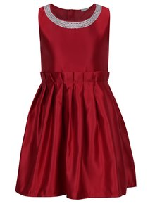Červené holčičí šaty bez rukávů name it Ididde