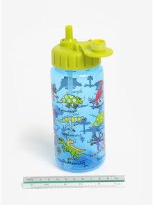Modro-zelená klučičí lahev na pití Tyrrell Katz Dinosaurs