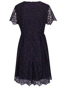 Fialové čipkované šaty VERO MODA Ingrid