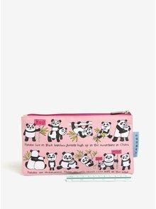 Ružový dievčenský peračník s motívom Pandy Tyrrell Katz Pandas