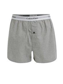 Sada dvou slim fit trenýrek v šedé a černé barvě Calvin Klein