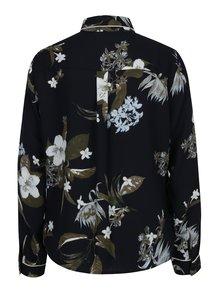 Camasa bleumarin cu print floral VERO MODA Aya